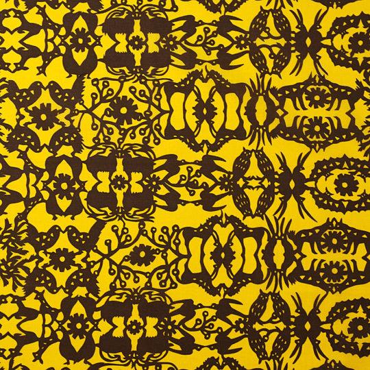 万華鏡の森/黄色