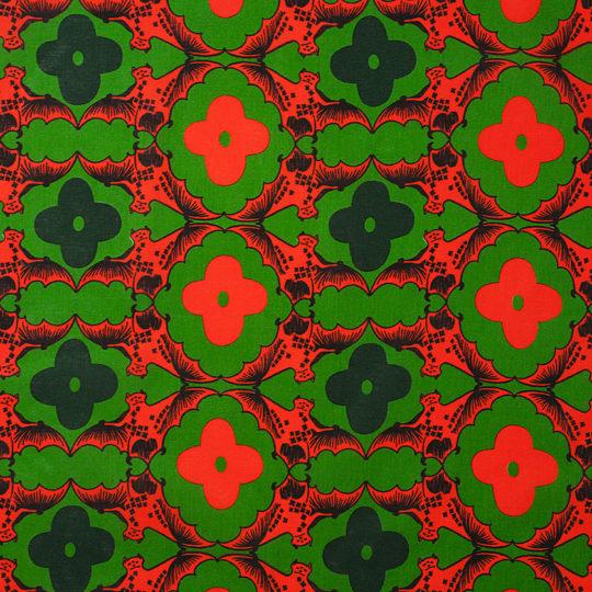 コウモリ/緑