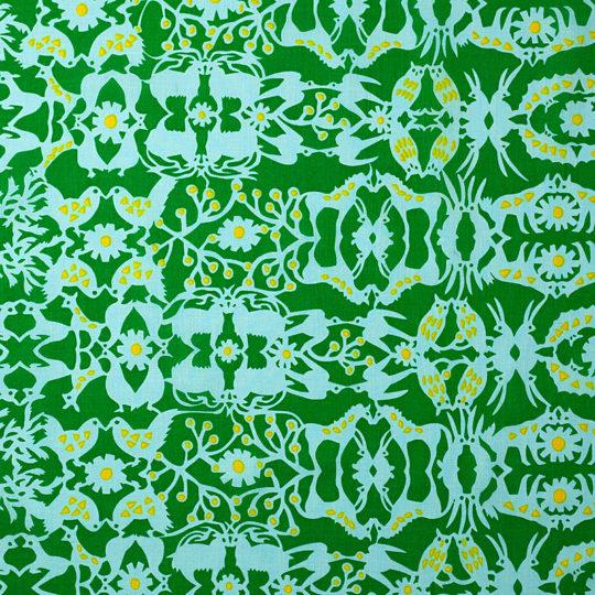 万華鏡の森/緑