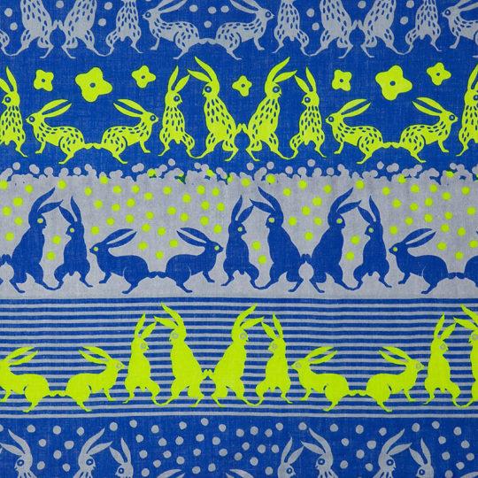 ウサギ族/青